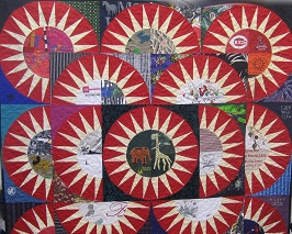 Memory Pieces Made into Quilts